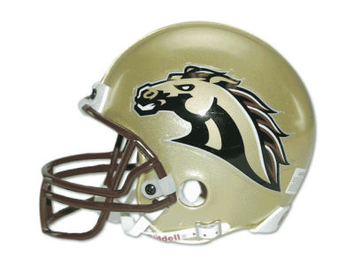 Western Michigan Broncos NCAA Mini Helmet