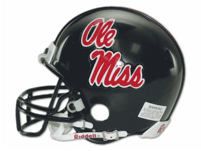 Ole Miss Rebels NCAA Mini Helmet
