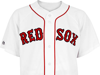 Boston Red Sox Majestic MLB Men's Blank Replica Jersey