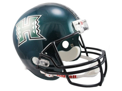 Hawaii Warriors NCAA Deluxe Replica Helmet