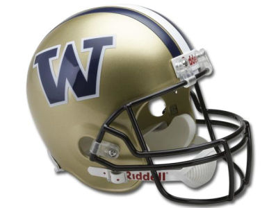 Washington Huskies NCAA Deluxe Replica Helmet
