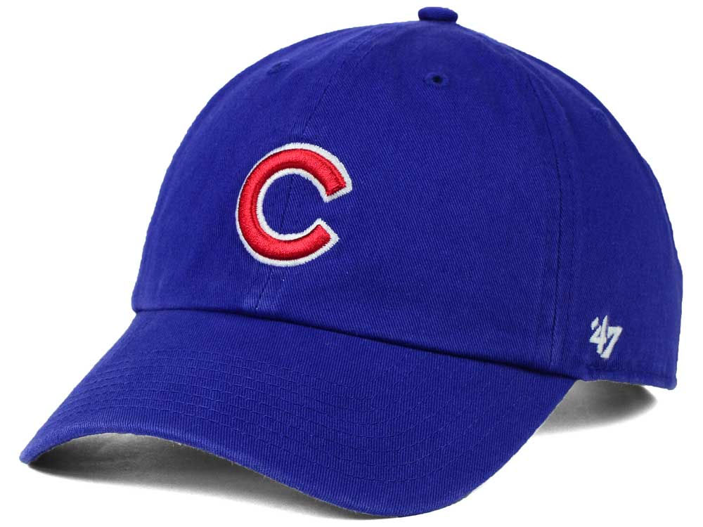 Chicago Cubs  47 MLB On-Field Replica  47 CLEAN UP Cap  e97b8a27289