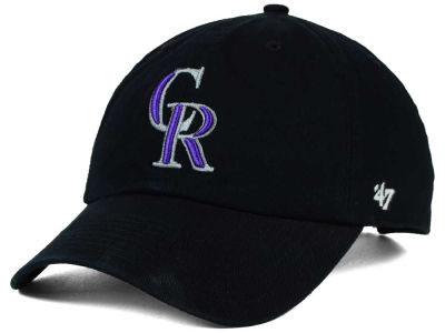 Colorado Rockies '47 MLB On-Field Replica '47 CLEAN UP Cap