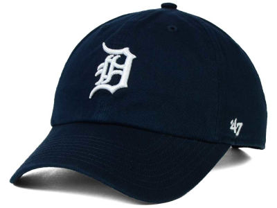 Detroit Tigers '47 MLB On-Field Replica '47 CLEAN UP Cap