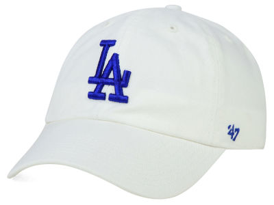 Los Angeles Dodgers '47 MLB White '47 CLEAN UP Cap