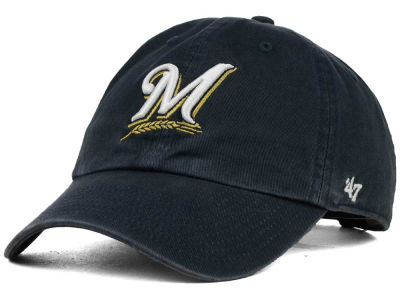 Milwaukee Brewers '47 MLB On-Field Replica '47 CLEAN UP Cap