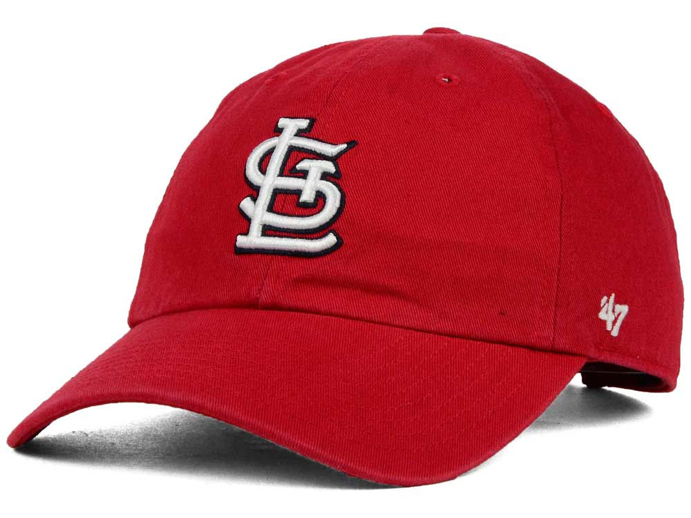 08604782146 St. Louis Cardinals  47 MLB On-Field Replica  47 CLEAN UP Cap
