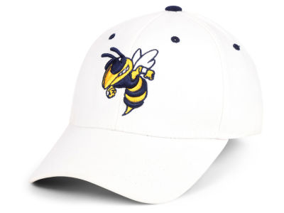 Georgia-Tech Top of the World NCAA White PC Cap