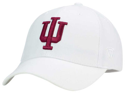 Indiana Hoosiers Top of the World NCAA White PC Cap