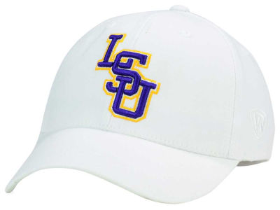LSU Tigers Top of the World NCAA White PC Cap