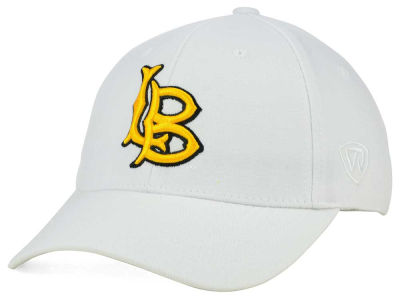 Long Beach State 49ers Top of the World NCAA White PC Cap