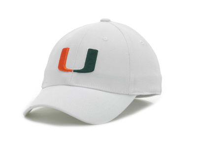 Miami Hurricanes Top of the World NCAA White PC Cap