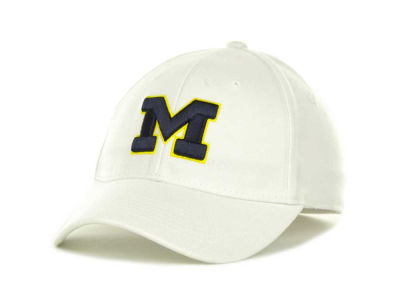 Michigan Wolverines Top of the World NCAA White PC Cap
