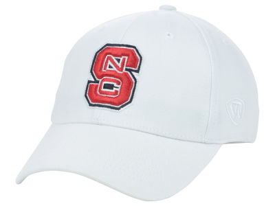 North Carolina State Wolfpack Top of the World NCAA White PC Cap