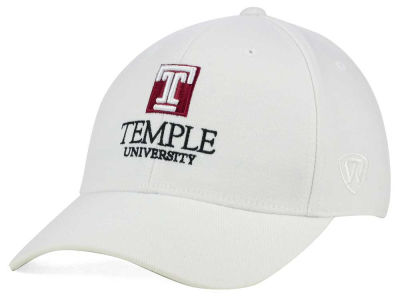 Temple Owls Top of the World NCAA White PC Cap