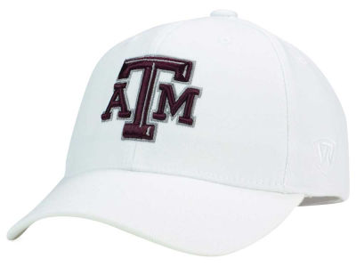 Texas A&M Aggies Top of the World NCAA White PC Cap