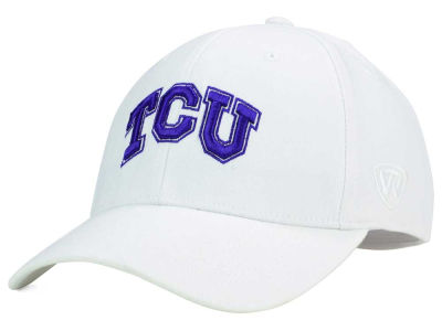Texas Christian Horned Frogs Top of the World NCAA White PC Cap