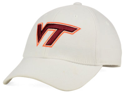 Virginia Tech Hokies Top of the World NCAA White PC Cap
