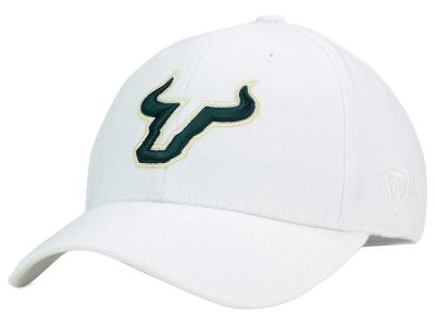 South Florida Bulls Top of the World NCAA White PC Cap
