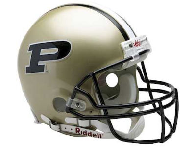Purdue Boilermakers NCAA Authentic Helmet