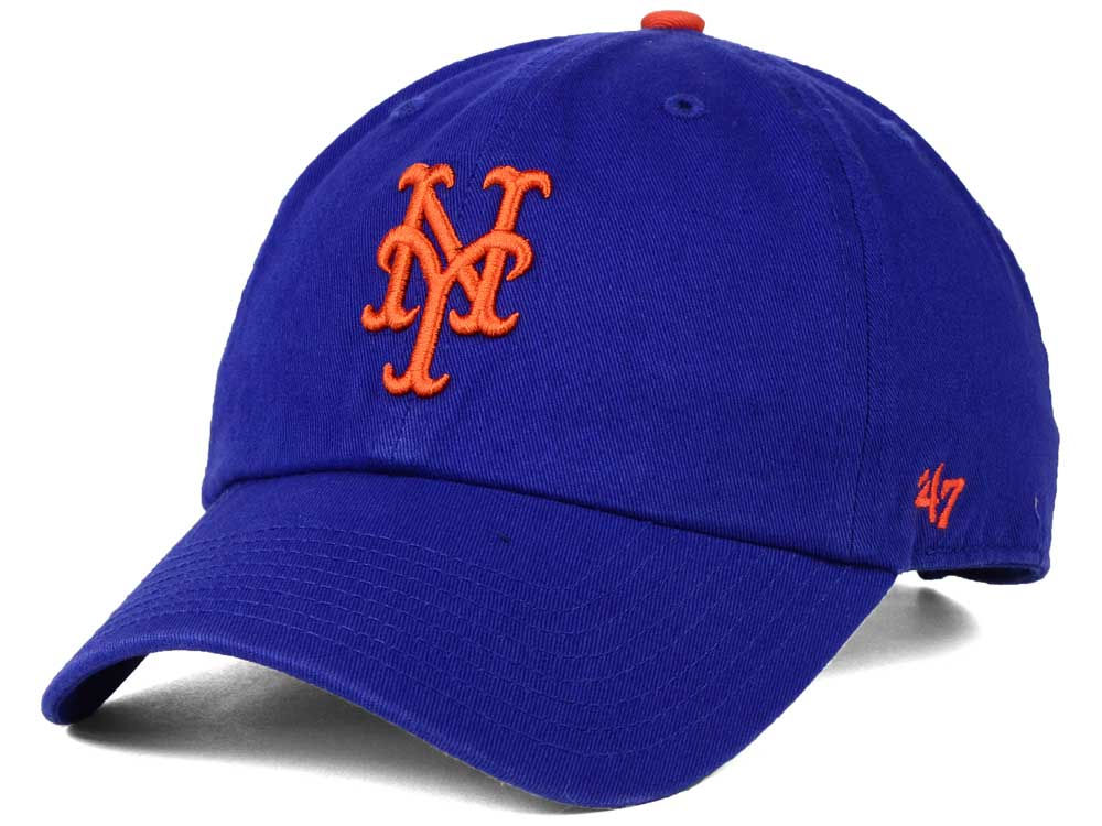 New York Mets Dad Hats   Caps - Adjustable Strapback Dad Hats in All ... e61a45bb56a8