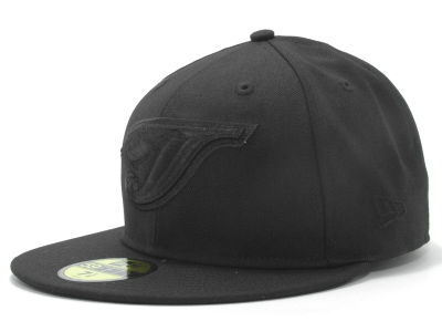 Toronto Blue Jays New Era MLB Black on Black Fashion 59FIFTY Cap