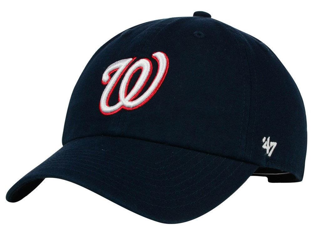 Washington Nationals  47 MLB Cooperstown  47 CLEAN UP Cap  0d703c902936