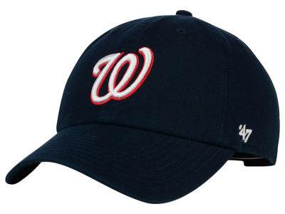 Washington Nationals '47 MLB Cooperstown '47 CLEAN UP Cap