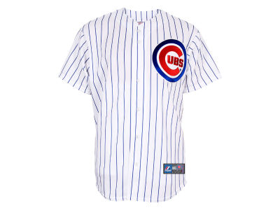 Chicago Cubs Majestic MLB Men's Blank Replica Jersey