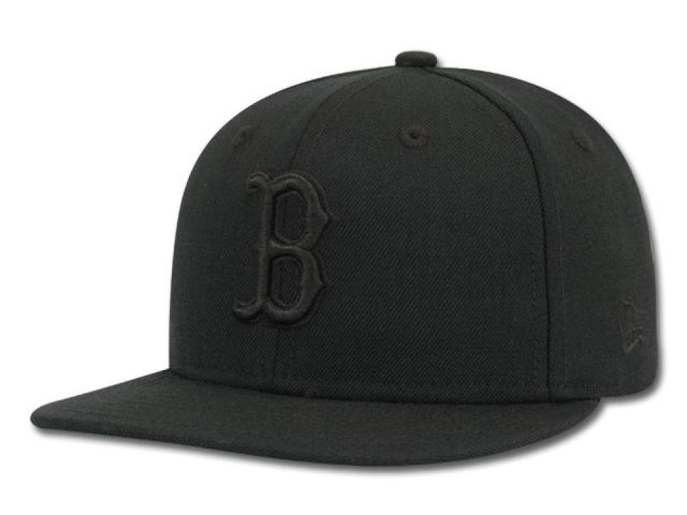 cheap for discount 8041a aeb76 ... switzerland boston red sox new era mlb black on black 59fifty cap bf91c  fba60