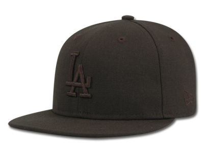 Los Angeles Dodgers New Era MLB Black on Black 59FIFTY Cap