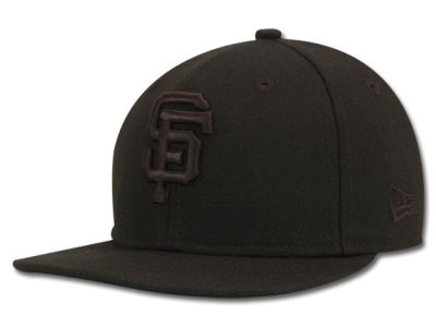 San Francisco Giants New Era MLB Black on Black 59FIFTY Cap