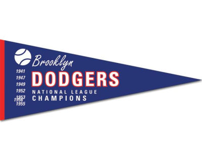 Los Angeles Dodgers Cooperstown Pennant