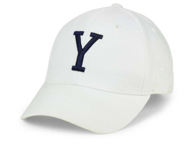 Brigham Young Cougars Top of the World NCAA White PC Cap