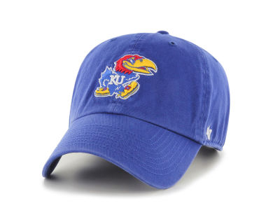 Kansas Jayhawks Toddler '47 Toddler Clean-up Cap