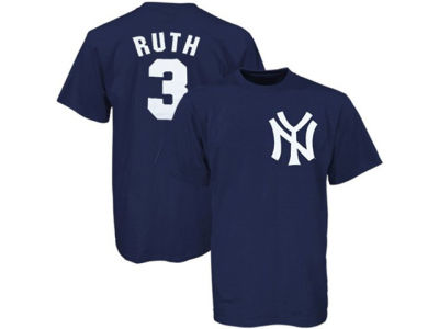 New York Yankees Babe Ruth Majestic MLB Men's Cooperstown Player T-Shirt