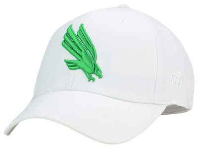 North Texas Mean Green Top of the World NCAA White PC Cap