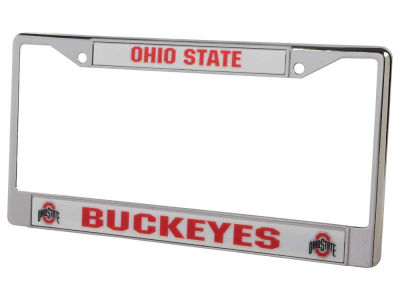 Ohio State Buckeyes Chrome Frame