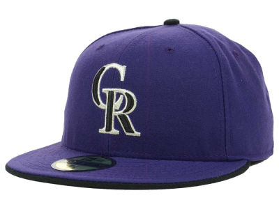Colorado Rockies New Era MLB XP Authentic Collection 59FIFTY Cap