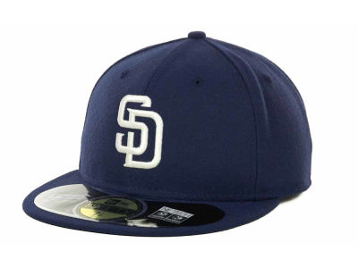 San Diego Padres New Era MLB XP Authentic Collection 59FIFTY Cap