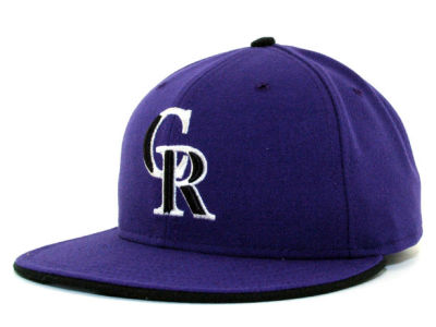 Colorado Rockies New Era Kids Auth Coll XP Cap