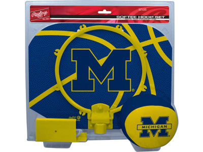 Michigan Wolverines Slam Dunk Hoop Set