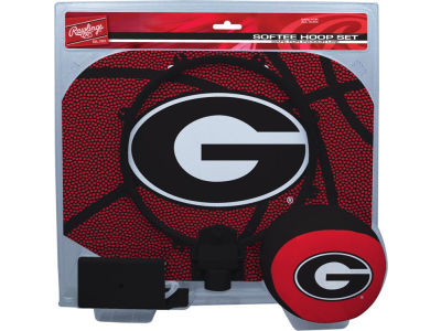 Georgia Bulldogs Slam Dunk Hoop Set