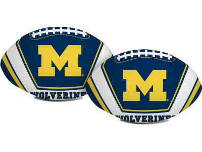 Michigan Wolverines Softee Goaline Football 8inch