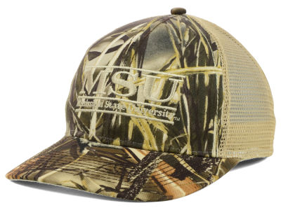 Mississippi State Bulldogs The Game NCAA Camo Mesh Bar Snapback Cap