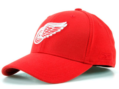 Detroit Red Wings Reebok NHL JC Core Basic Flex Fit Hat
