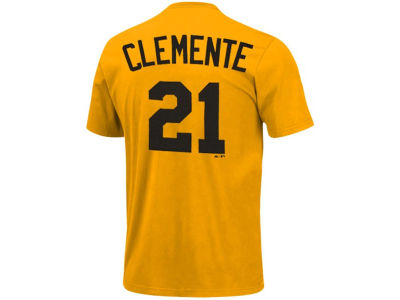 Pittsburgh Pirates Roberto Clemente Majestic MLB Men's Cooperstown Player T-Shirt