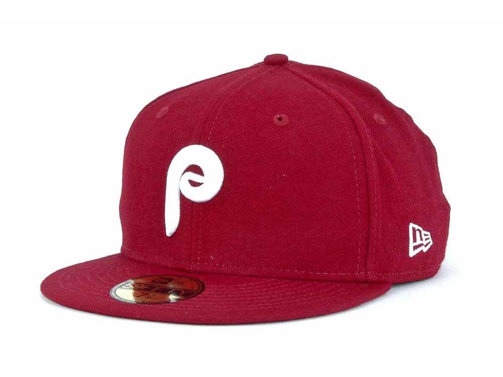 online retailer 591e1 d919a ... sweden philadelphia phillies new era mlb cooperstown 59fifty cap dd1b1  f20f0