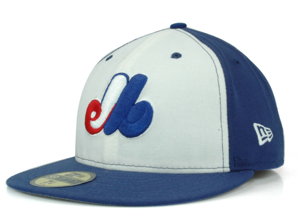 7718c4c3cb0 Montreal Expos New Era MLB Cooperstown 59FIFTY Cap