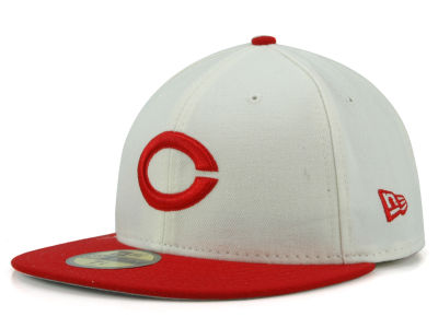Cincinnati Reds New Era MLB Cooperstown 59FIFTY Cap